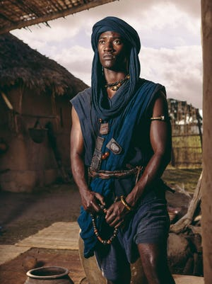 """Malachi Kirby as Kunta Kinte. He says of the original miniseries: """"I didn't know what to do with my emotions after watching."""""""