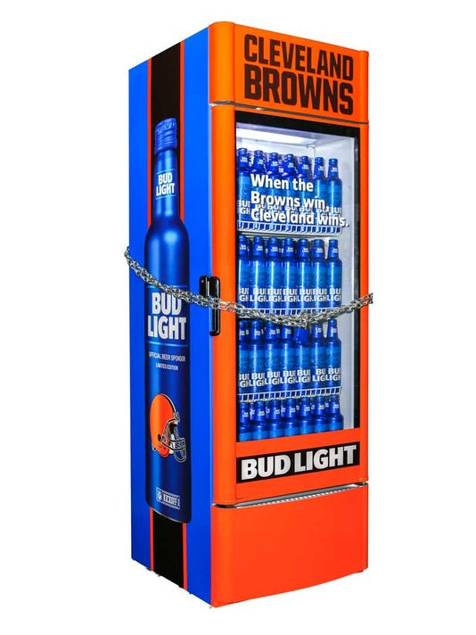 Bud Light will give Browns fans free beer - the minute the team wins a game