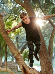 Justin Bieber, seen in this promotional photo, will perform at the Desert Smash Tuesday.