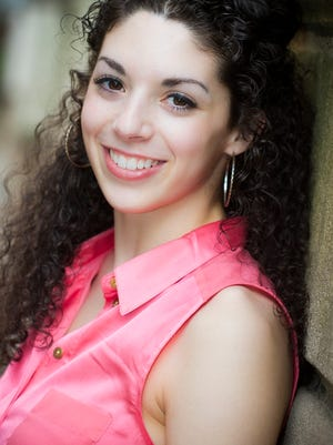 Gabriella Perez, a Brighton native, plays Purity in Anything Goes.