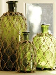 Hippie macrame bottles will be the subject of April's Crafternoon event. Registration is required and starts at 9 a.m. Saturday, April 4.