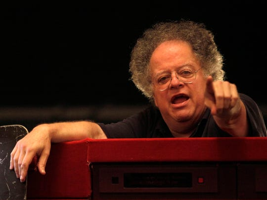 "James Levine in September 2009 before the final dress rehearsal for ""Tosca"" at the Metropolitan Opera in New York."