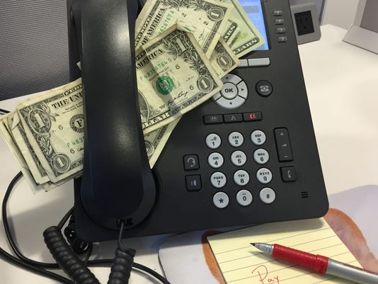 Scammers demand money now