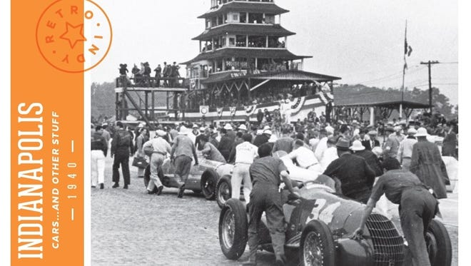 One of the five styles of Retro Indy postcards available