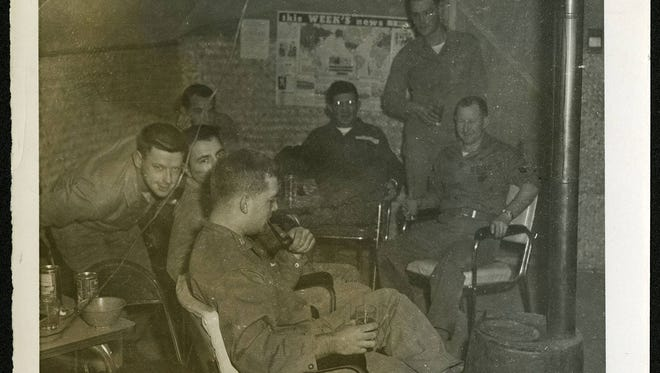 """The war is over. Now we can relax a little, although frequent incursions by both sides continued for a year or so."" 181st CIC Detachment in Korea, 1953."