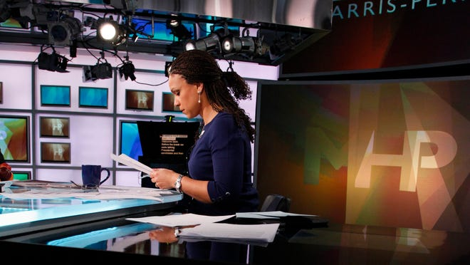 Melissa Harris-Perry hosts a weekend political talk show on MSNBC.