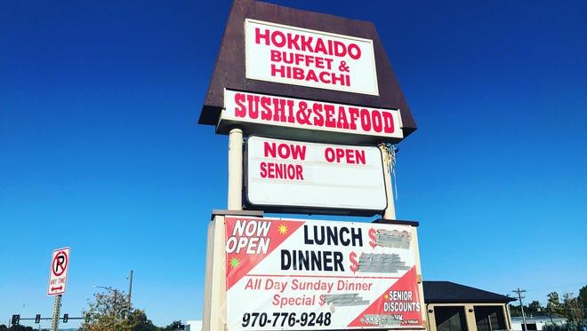 Hokkaido Buffet is located at   1011 E. Eisenhower Blvd. in Loveland.