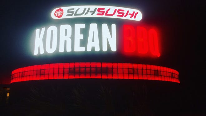 Suh Sushi Korean BBQ operates out of the old Taps sports bar at 165 E. Boardwalk Dr.