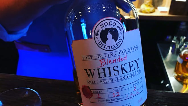 A blended whiskey from NOCO Distillery.