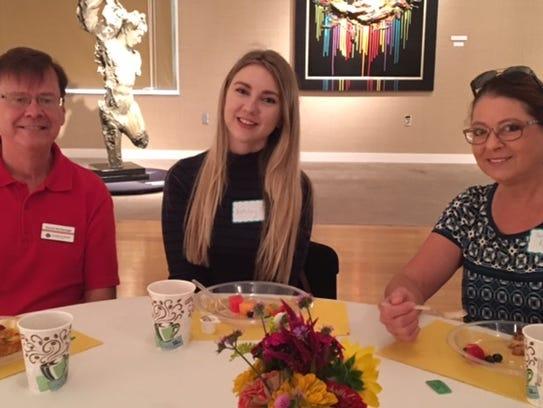 Docent brunch Prospective new Evansville Museum docents