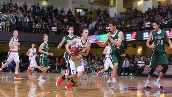 Pleasantville defeated Briarcliff 58-49 to win the