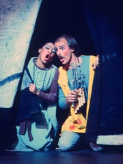 Kathleen Battle as Pamina and Ron Raines as Papageno in the 1977 MOT production of Mozart'sThe Magic Flute.