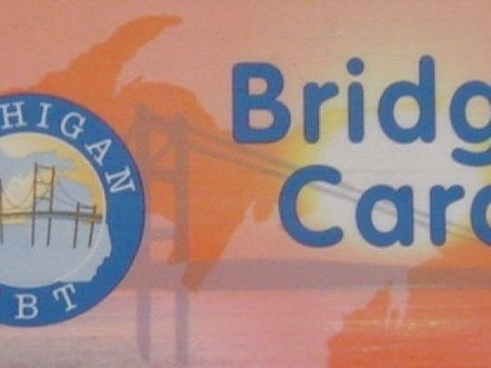 SNAP benefits in Michigan are transacted with Bridge Cards.