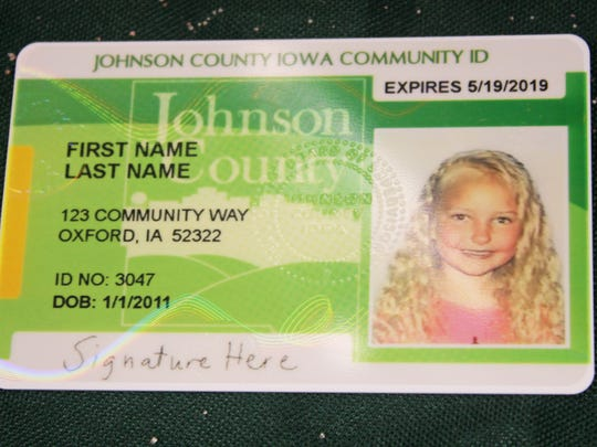 The Johnson County Community ID program celebrated