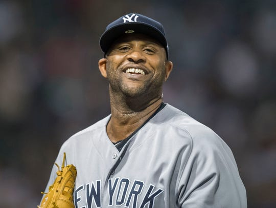 Yankees pitcher CC Sabathia.