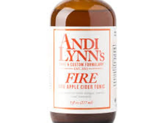 Fire Cider Tonic from Andi Lynn's Pure and Custom Formulary