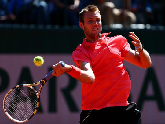 Jack Sock, coached by Troy Hahn, showed well at this