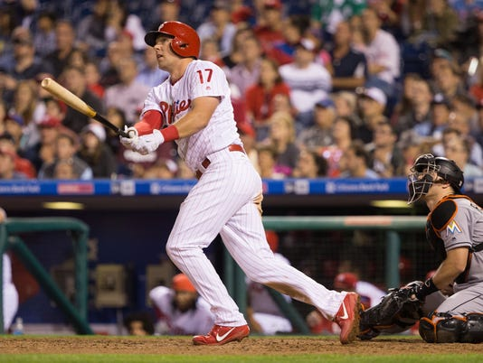 MLB: Miami Marlins at Philadelphia Phillies