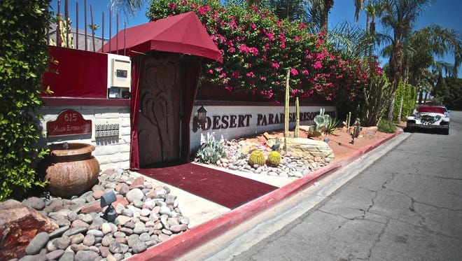 A bomb threat was called in to Desert Paradise Hotel in Palm Springs Wednesday, according to police. The threat was a hoax, officials said.
