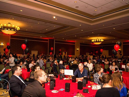 Chefs and spectators filled the Hershey Lodge ballroom