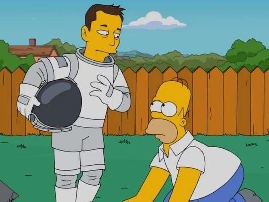 Elon Musk debates science--with Lisa Simpson