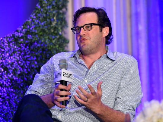 Andrew Kreisberg speaks at Variety's A Night In The