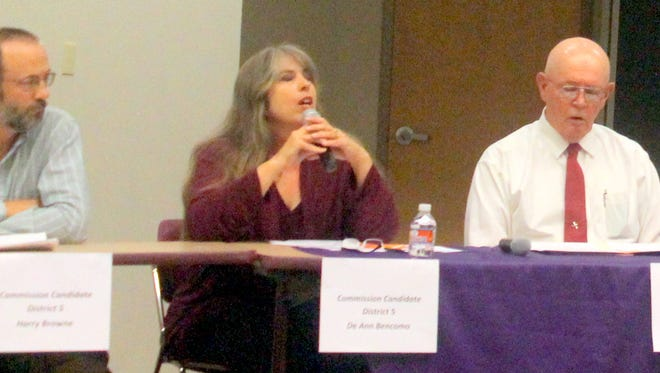 A political forum was held Tuesday evening on the campus of Western New Mexico University.
