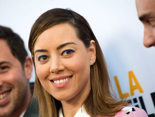 Actress/producer Aubrey Plaza attends the LA Film Festival