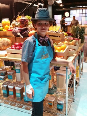 Noah Jenkins, 11, aspires to be a celebrity chef.