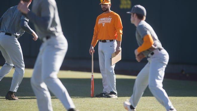 Tennessee baseball coach Tony Vitello