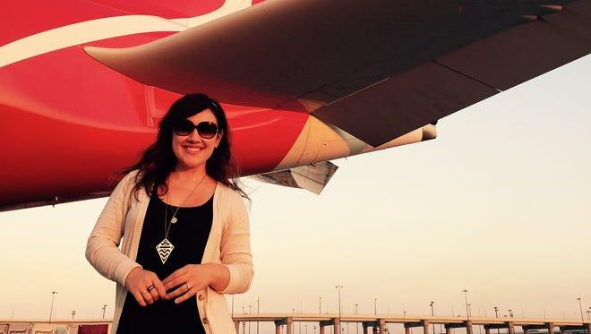 Jennifer Franklin flew from Dallas to Sydney in June.