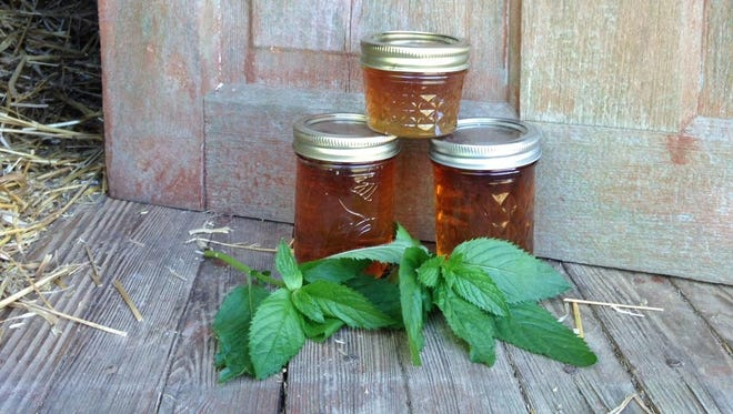 Mint jelly can be made at home and kept up to a year..