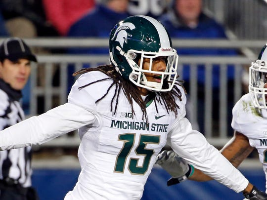 Michigan State cornerback Trae Waynes