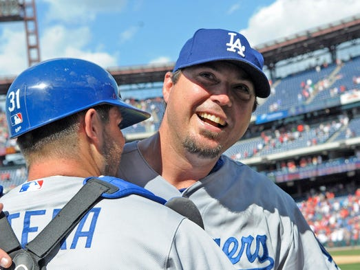 Los Angeles Dodgers pitcher Josh Beckett's no-hitter was the centerpiece of an impressive run of 17 innings without giving up a hit.