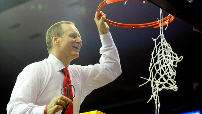 UL coach Bob Marlin hopes a tough early schedule could lead to the Cajuns cutting down nets in New Orleans like they did at the 2014 Sun Belt Tournament.