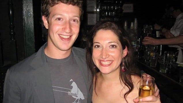 Mark and Randi Zuckerberg