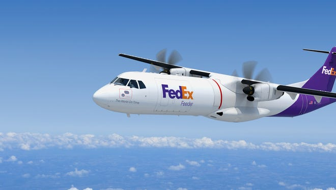 FedEx announced an aircraft order with French manufacturer ATF for 30 new feeder aircraft with an option to buy 20 more.