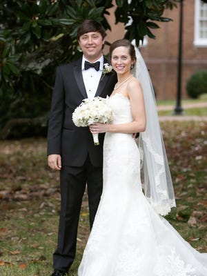 Tyler Moore and Kathryn Harvey married at Westminster Presbyterian Church.