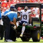Knees headline early injury report on NFL opening weekend