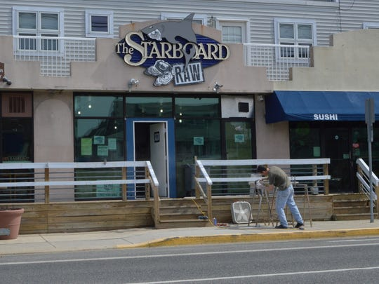 Starboard Raw, a new Dewey Beach raw bar, has opened across the street from The Starboard.