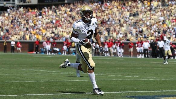 Georgia Tech Yellow Jackets wide receiver Ricky Jeune