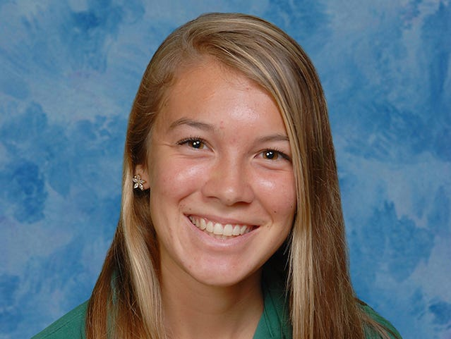 Amanda Beach has been voted FLORIDA TODAY's high school athlete of the week for the week of Oct. 12-18.