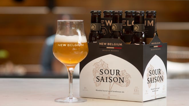 New Belgium Brewing has released its first year-round sour.