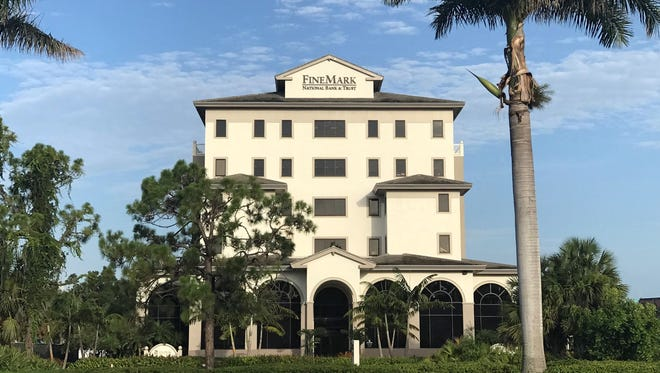 The Fine Mark building where the new 6,000-square-foot Compass  office will be located in Naples, Fla.