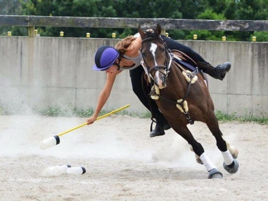 Stretch!  The Mounted Horse Championship is Sept 6-9