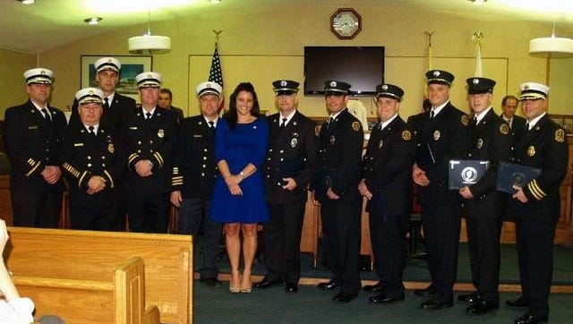Middletown Life Saving Awards presented to firefighters