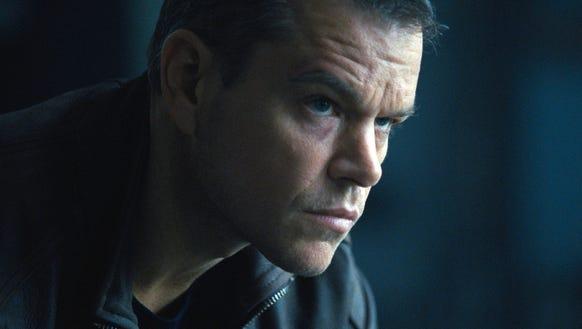 Matt Damon in 'Jason Bourne'