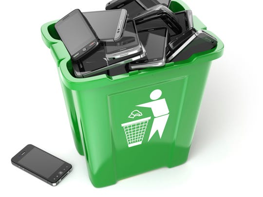 The Woman's Club of Parsippany-Troy Hills is collecting mobile devices for recycling.