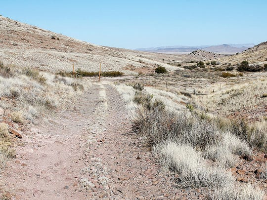 The Butterfield Trail can still be seen in Cooke's Canyon in the Cooke's Range in Luna County., New Mexico.