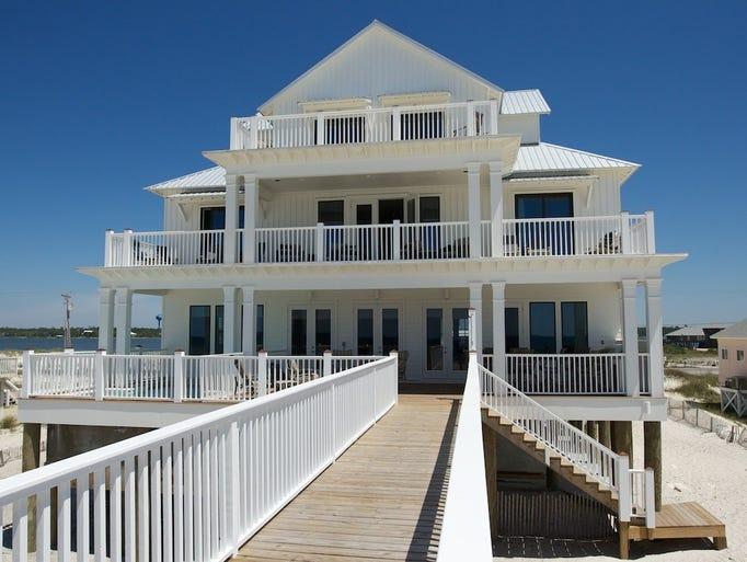 6 Bedroom Beach House Rental
